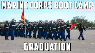 USMC GRADUATION - Bravo & November Company Distinguished Honor Graduates