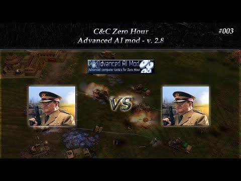 [C&C Zero Hour] 1v1 - Advanced AI mod v 2.8 - #003
