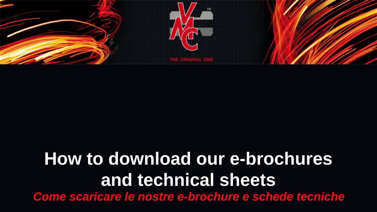 Home products technical information downloads - Vmc E Brochure Download