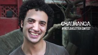 #FirstLoveLetter - Zain Khan Durani (Chauranga)