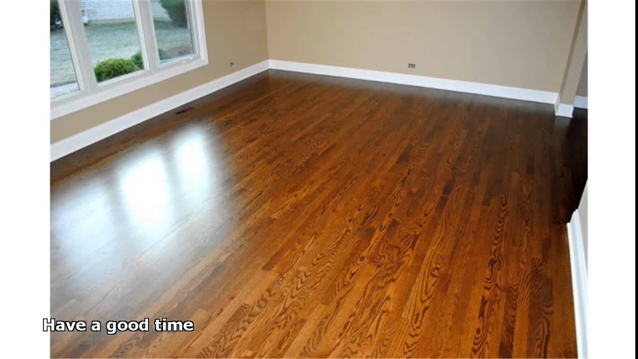 hardwood floor refinishing cost - YouTube