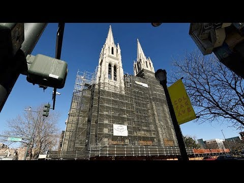 Cathedral Basilica of the Immaculate Conception restoration work under way in Denver