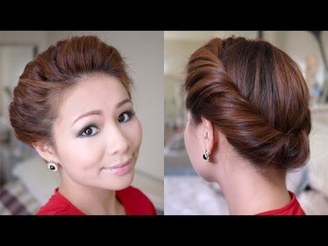 2 Minutes Spring Twist Hair Tutorial - YouTube