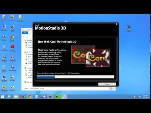 How To Instal Corel Motion Studio 3D in Urdu Hindi
