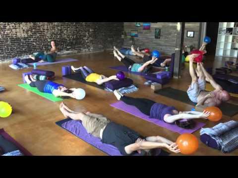 Balloon Yoga at Be Love Yoga Studio