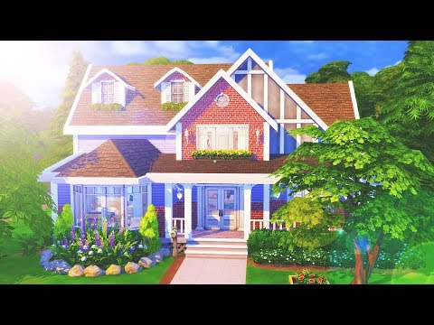The Sims 4: Speed Build   Large Family Home