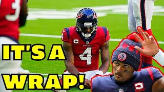 DeShaun Watson's Time in Houston with Texans is OVER according to NFL Insider