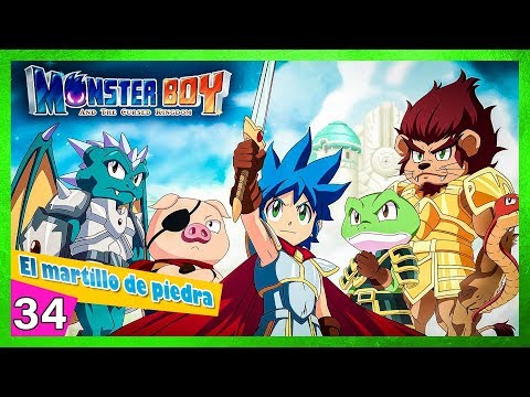Monster boy and the cursed kingdom Las tres reliquias el hacha de piedra thumbnail