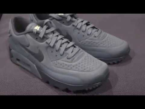 newest 14016 13c61 NIKE AIR MAX 90 ULTRA SE - hasta anthracite ghost green UNBOXING ...