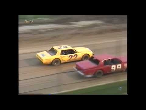 Full race from the Factory Stock division at Hartford Speedway Park in MI July 3, 2000. - dirt track racing video image