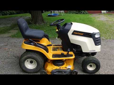 HAPPY EASTER and Changing the oil in grandmas cub cadet cc30h