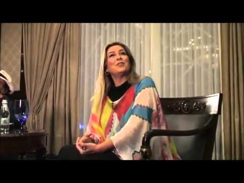 Al Bano & Romina Power interview in Moscow 2013 yoga