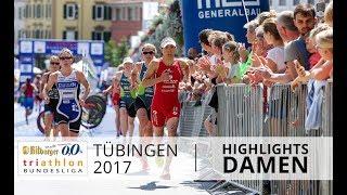 1. Bitburger 0,0% Triathlon-Bundesliga Tübingen 2017 - Highlights Damen