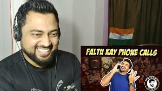 FALTU KAY PHONE CALLS | AWESAMO SPEAKS | Indian Reactions