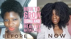 MY TIPS ON GROWING LONG AND HEALTHY NATURAL HAIR- KINKY HAIR
