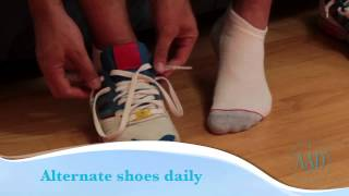 How to prevent athlete's foot video