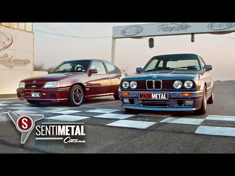 Drag Race: BMW 325is Gusheshe vs Opel Kadett Superboss