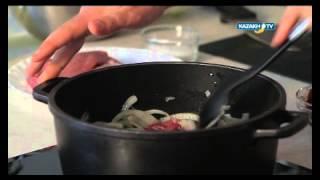 Казахская кухня - Куырдак (каз. Қуырдақ)