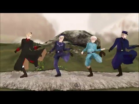 [MMD] Hetalia - With Love from Iceland - Character Song