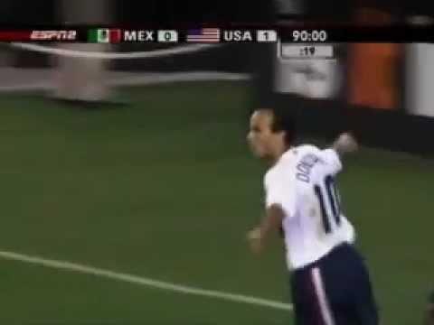 Landon Donovan vs México - GOLAZO IMPRESIONANTE!!