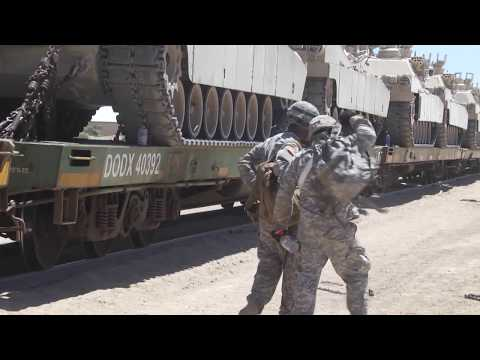 Mississippi National Guard Soldiers Load Up and Prepare to Head Home