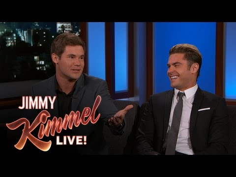 "Zac Efron & Adam Devine Met the Real ""Mike & Dave"""