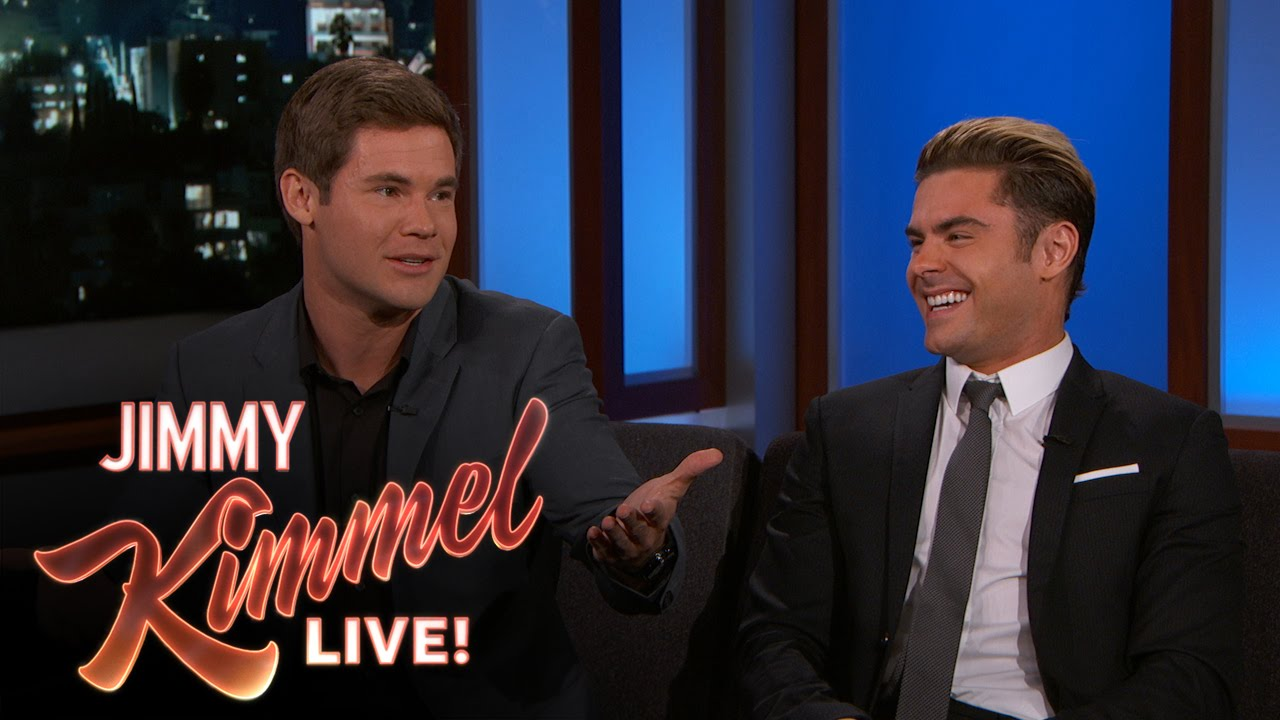 Zac Efron Adam Devine Met The Real Mike Dave