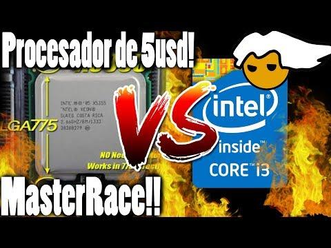 Un Procesador de 5USD!(OC) Vs Intel core i3!! (X5355 Vs i3 4170)  (12 años de antiguedad)