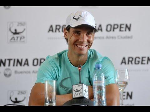 """Rafael Nadal: """"en Argentina me siento como en casa"""""""