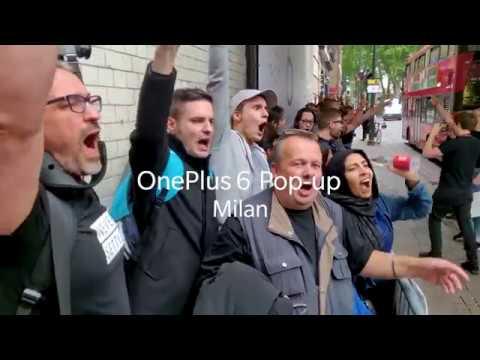 OnePlus 6 European Pop-Ups