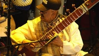 Raga Bhairava based Sitar Fusion Music by Ashwin Batish live in concert at Kuumbwa Jazz Center