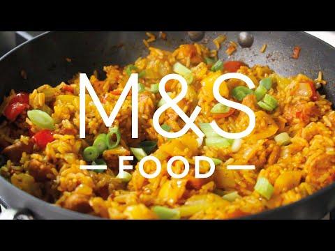 Chris' smoky no-chorizo jambalaya  | M&S FOOD