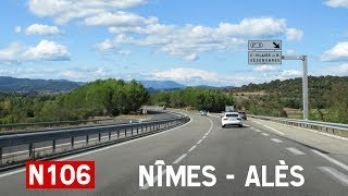 France: N106 Nîmes - Alès