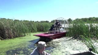 Custom Built Air Boat For Sale