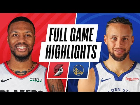 TRAIL BLAZERS at WARRIORS | FULL GAME HIGHLIGHTS | January 1, 2021