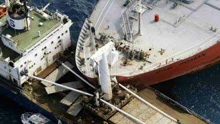 Detik Detik Kecelakaan Kapal Saat Akan Bersandar Di Pelabuhan
