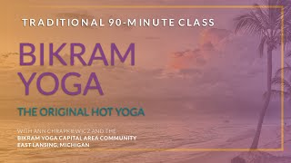 Bikram Yoga - The Original Hot Yoga - Full 90-minute Class - taught by Ann Chrapkiewicz
