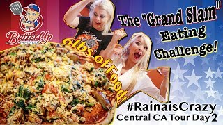 "6lb Batter Up Pancake's ""Grand Slam"" Challenge | Central CA Tour Day 2 | RainaisCrazy"