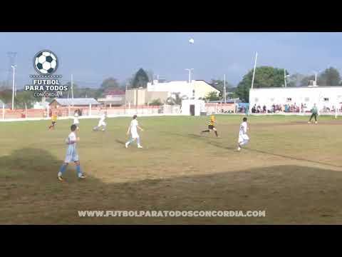El gol de Comunicaciones 3 2 Alberdi