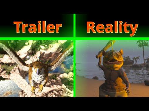 ARK: Ragnarok Trailer vs Reality