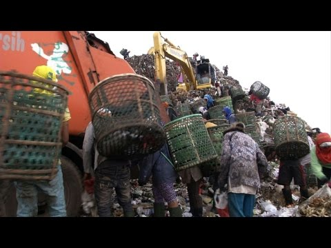 As garbage mountains rise, Indonesian capital faces waste crisis
