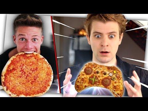 ConCrafters Pizza sollte so aussehen und schmecken!