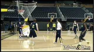 Michigan Practice Heading into 2013 Final Four