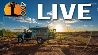 LIVE Q&A. Africa and Aussie truck builds, meet & greets. Bring your questions.