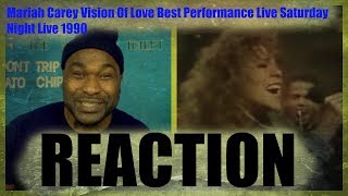 Mariah Carey Vision Of Love Best Performance Live Saturday Night Live 1990-REACTION