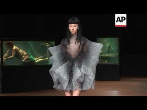 Water Inspires Iris Van Herpen Couture Show