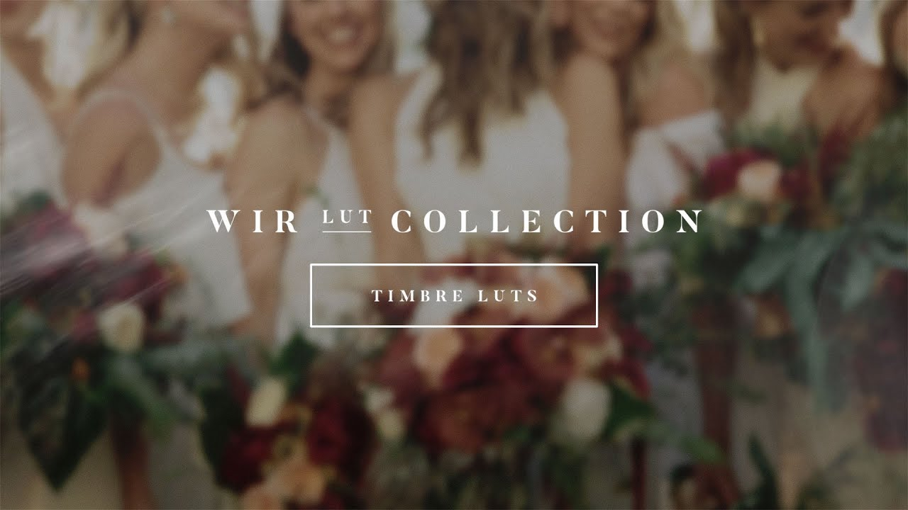 Brand New LUT Collection for Wedding Filmmakers