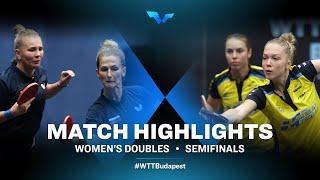 Olga Vorobeva/Yana Noskova vs Linda Bergstrom/Christina Kallberg   WTT Contender Budapest 2021 (1/2)