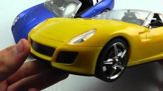 """ОБЗОР: Портативная Колонка-Машинка """"Ferrari 599 Cabriolet"""" с радио и MP3"""