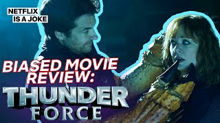 Thunder Force Reviewed By a Man With a Seafood Phobia